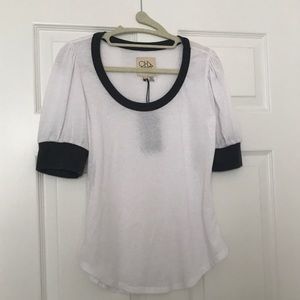 NWT - Chaser Puff Sleeve Shirt SZ S